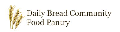 Logo of the Daily Bread Community Food Pantry